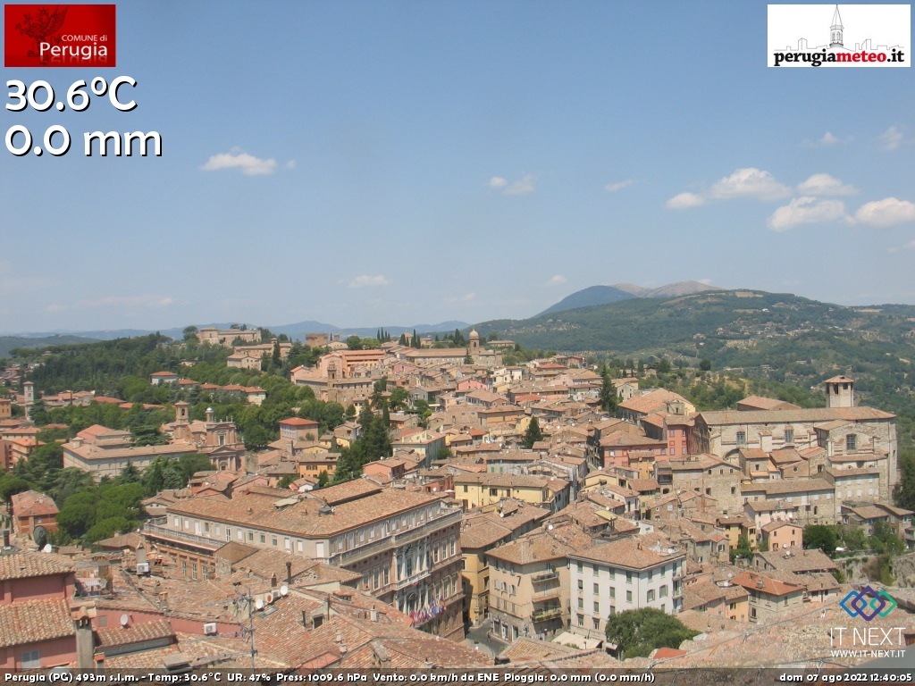 webcam Umbria