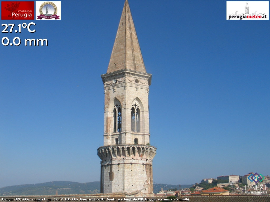 Webcam nei dintorni di Bevagna in Umbria